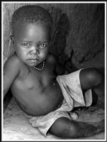 african child by rissyzART