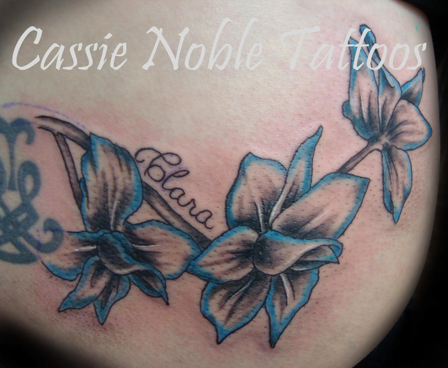 Larkspur Flower Tattoo: Larkspur By Cassienoble On DeviantArt