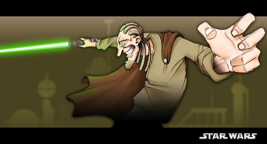 My Jedi Master by napka