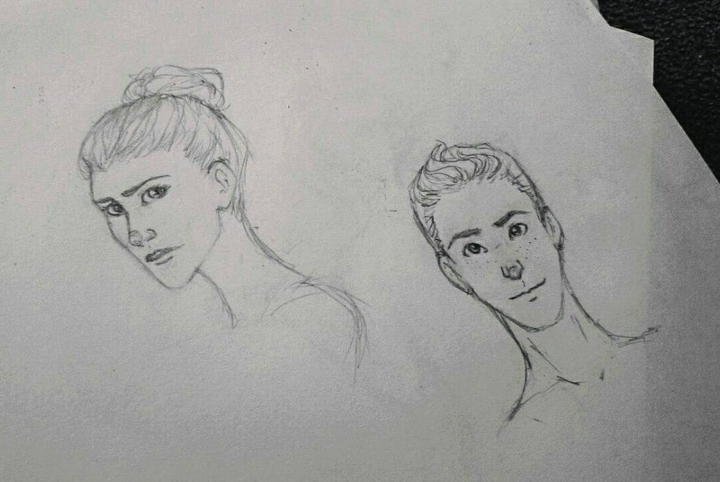 sketches  by Darya25