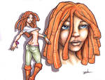 Blackbook Dreadgirl Page10 by YoulDesign
