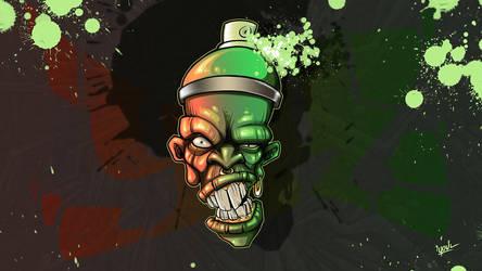 FreeWallpaper_ AngryBombz_1920x1080 by YoulDesign