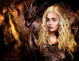 Song of Ice and Fire\  Daenerys by peterg666666