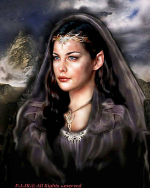 Lady Arwen Evenstar by peterg666666