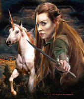 Tauriel \Legend's Middle-earth by peterg666666