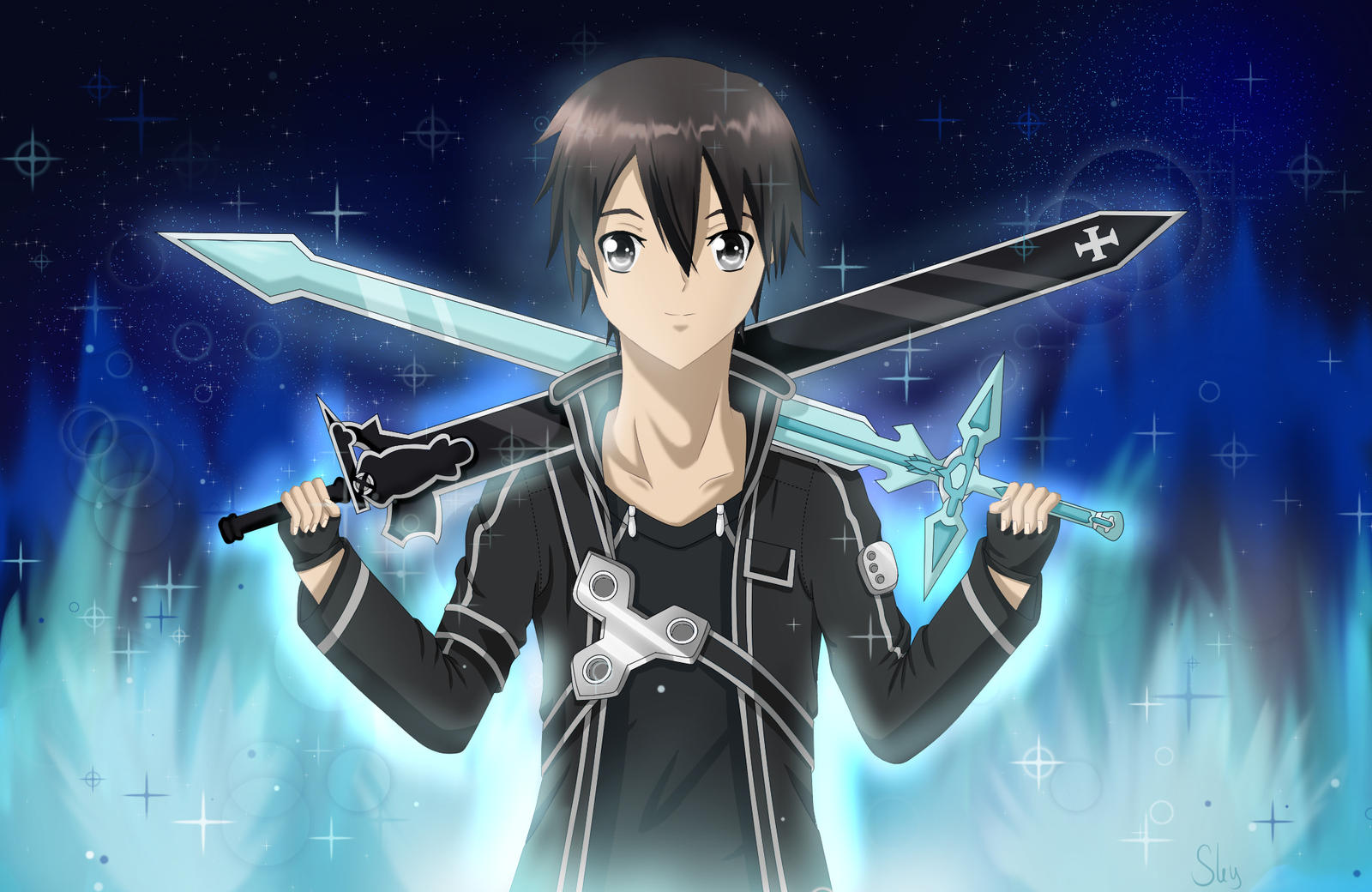 Kirito Sword Art Online SAO By Skyfights