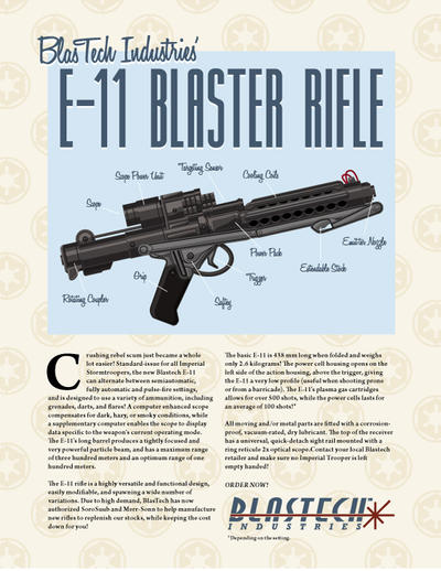 Storm Trooper Blaster Ad
