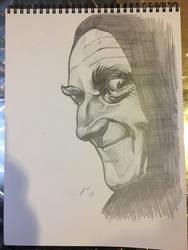 Daily Sketch: Igor 3.31.17 by JRMurray76