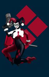 Harlequin FanArt by xXBlackKatXx