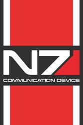 N7 Mass Effect iOS Wallpaper