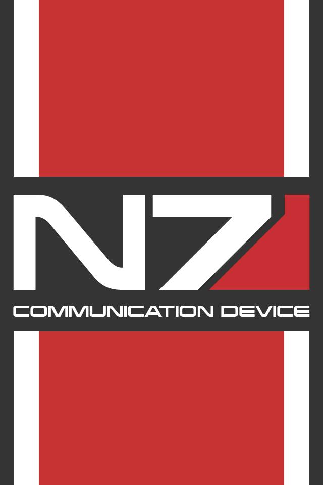 N7 Mass Effect IOS Wallpaper By Simmemann On DeviantArt