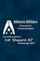 System Alliance iOS wallpaper by Simmemann