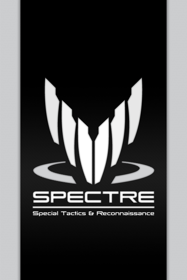 SPECTRE iOS wallpaper by Simmemann