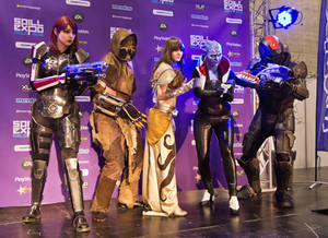 Spillexpo Cosplay finals Saturday