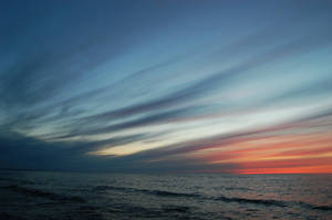 summer sky by LinkyQ