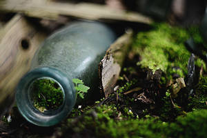 World in a bottle by LinkyQ