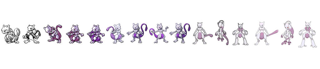 Mewtwo Timeline by chigger3