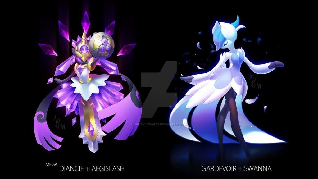 Cool pokemon fusions! by LightVibesARTS