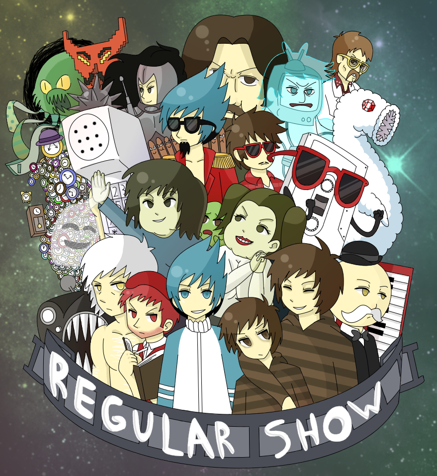 Regular Show by Nintenderp23