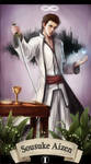 Aizen as Magician Tarot by Choctopi 2015 by Sariniste