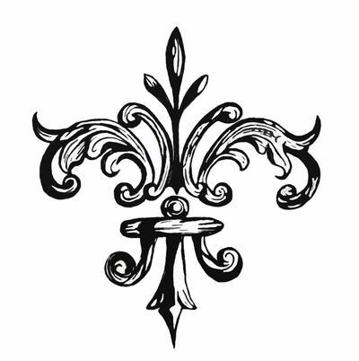 fleur de lis by grogee on deviantart. Black Bedroom Furniture Sets. Home Design Ideas