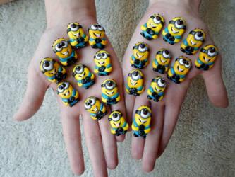Many MINI Minions! by SkipperSara