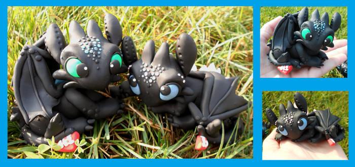 Nightfury Toothless Couple