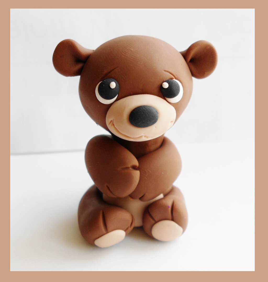 Teddy Bear Sculpt by SkipperSara