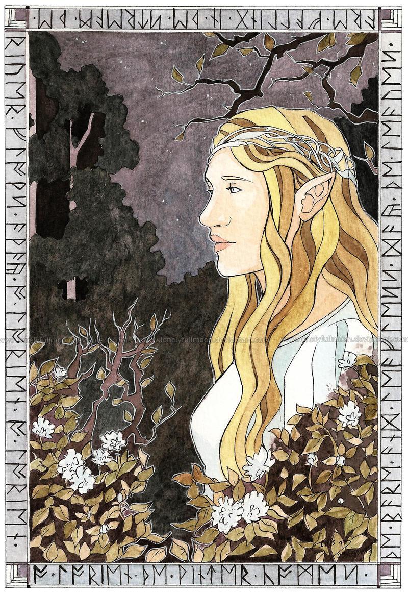Lady Galadriel by LonelyFullMoon