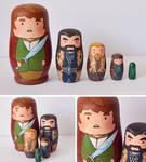 The Hobbit Matryoshka