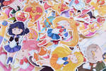 Sailor Moon Stickers by inestheunicorn
