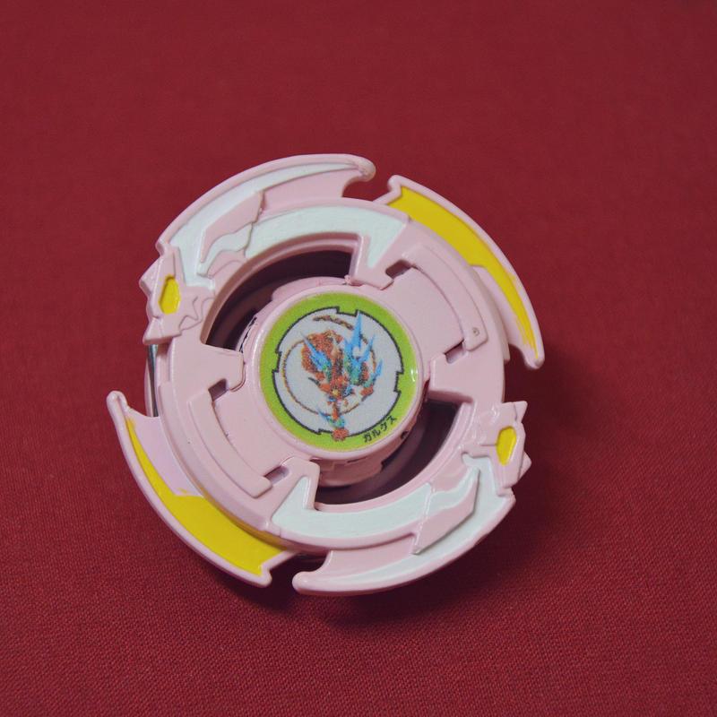 Galux - Custom Painted Beyblade by LonelyFullMoon