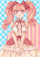 Pink loli by LonelyFullMoon
