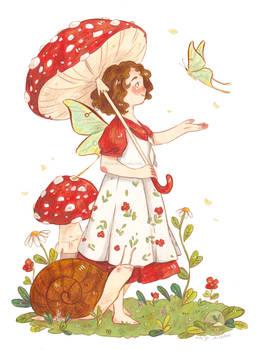 Mushroom Parasol