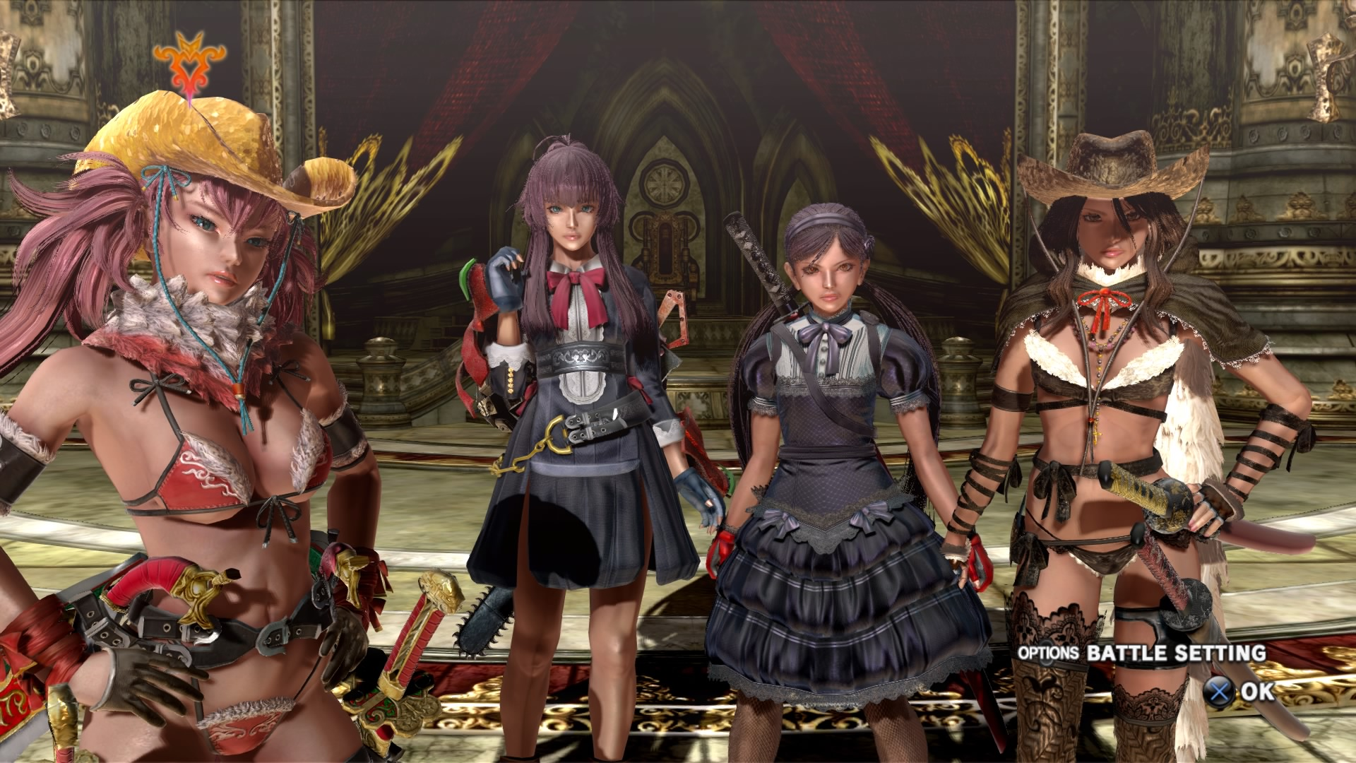 onechanbara z2 chaos costumes