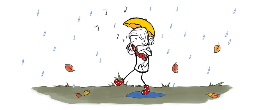Singing in the rain by victomoflove