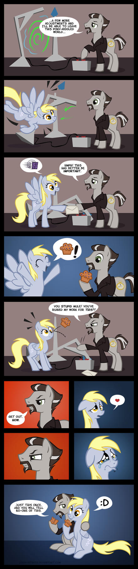 Derpy's Delivery by LissyStrata