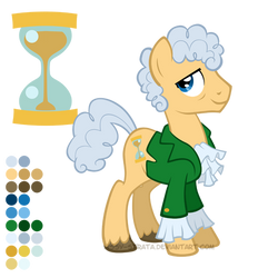 Reference Sheet: Third Doctor by LissyStrata