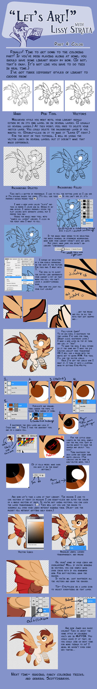 Tutorial: Coloring by LissyStrata