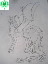 Radiant Silver Original Sketch