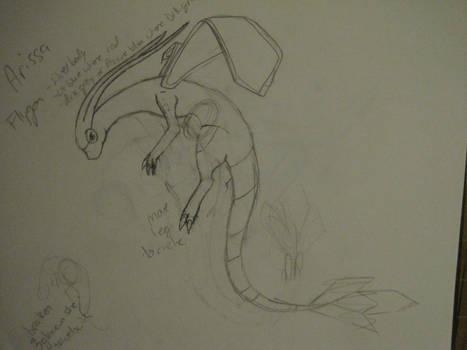 Flygon sketch