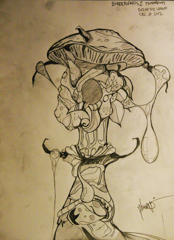 Borderlands 2: Highland Mushroom by Mindstate-Free