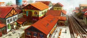 train station by syarul