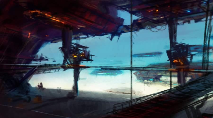 hangar by syarul