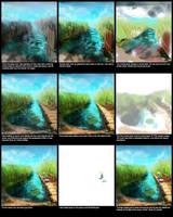 fishing: basic tutorial by syarul