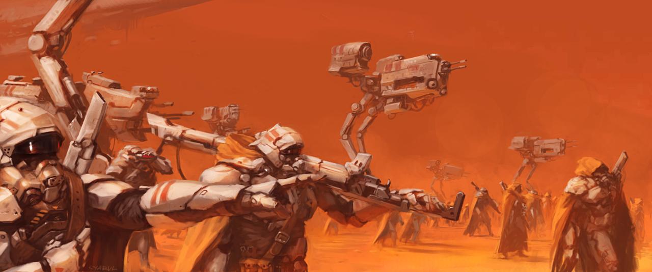 desert troopers by syarul