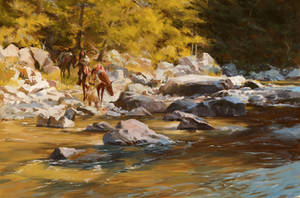 Painting studies, Terpning - Source of All Life by syarul