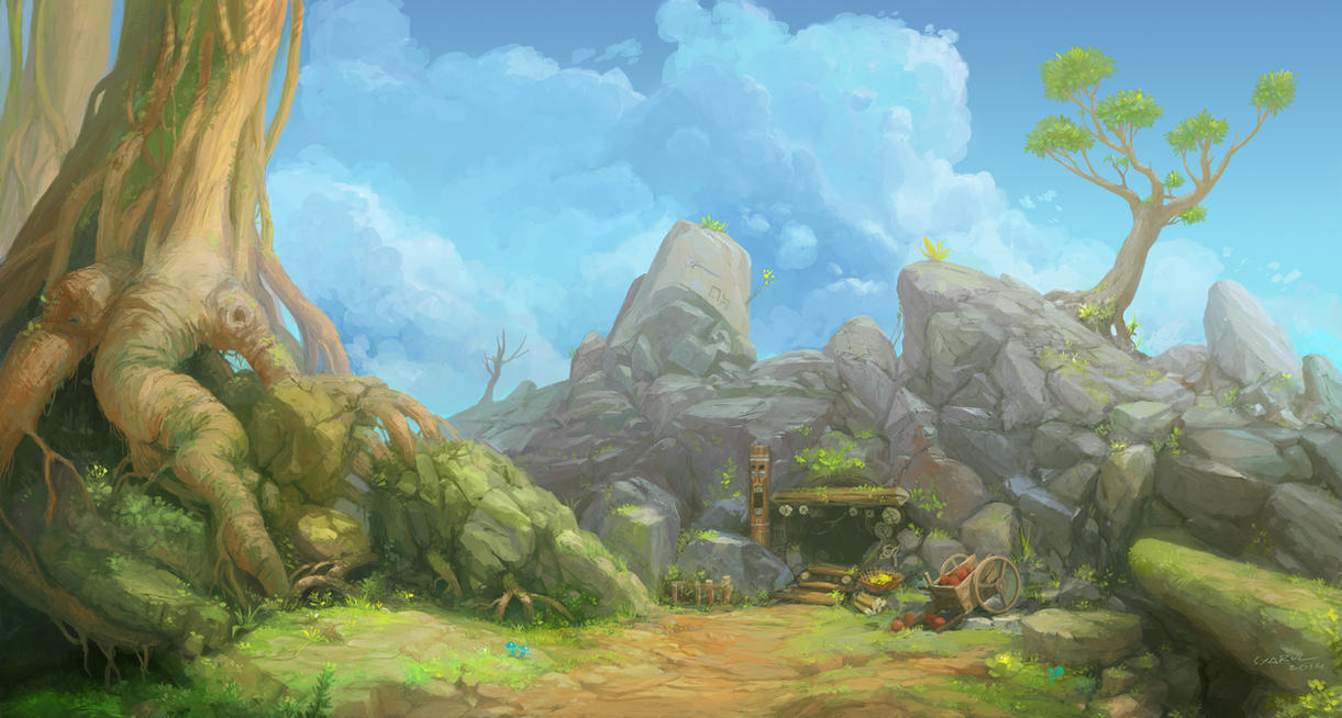 Beanstalk by syarul