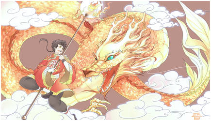 Dragon Dance by jinzilla