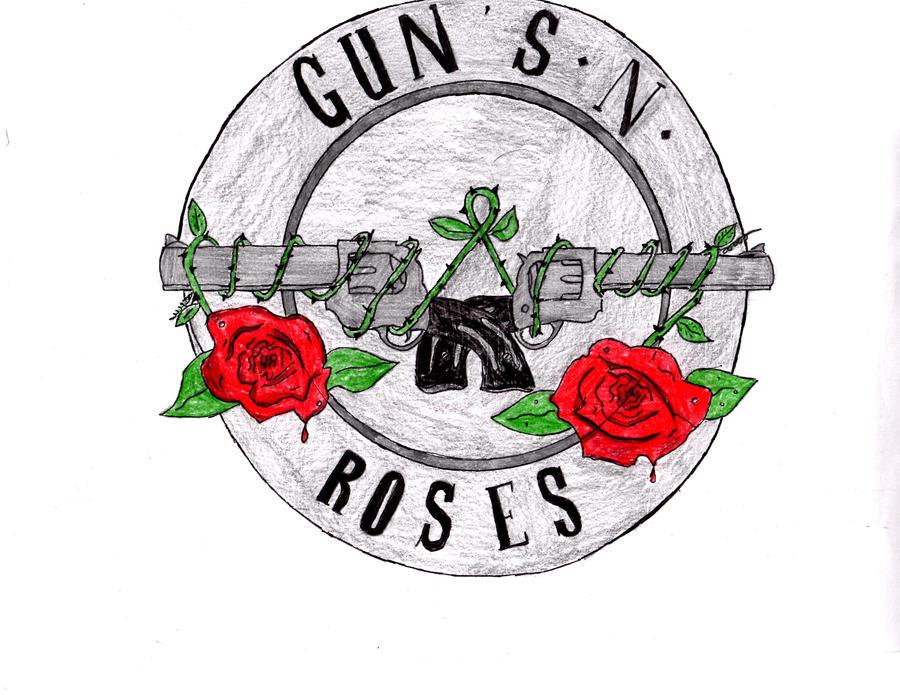 Gun N Roses Logo By Darthkane01 On Deviantart